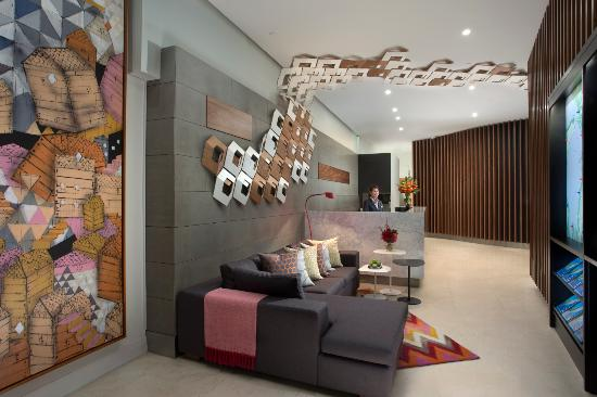Citadines St Georges Terrace Perth - Reception