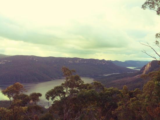 Camden, Australia: Eastern edge of lookout point