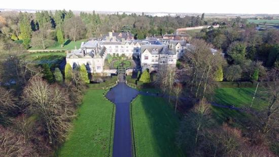 Coombe Abbey Hotel Taken With Drone
