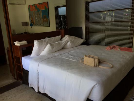 Uma Sapna: bedroom area