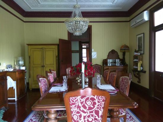 Kalbar, Australia: Dining room