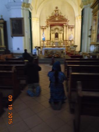 كاتدرائية سانتياجو: Penitents