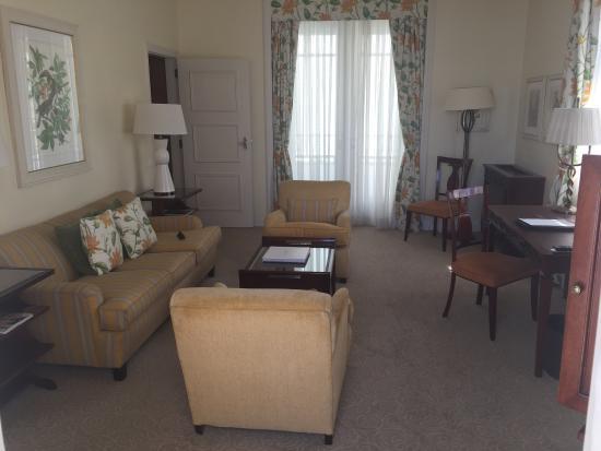 โรงแรมโคปาคาบานา พาเลซ: Suite lounge