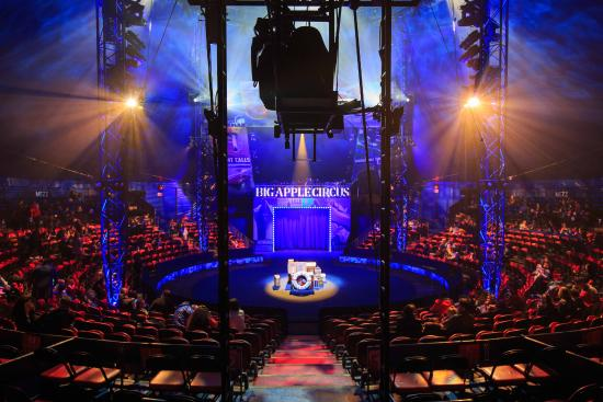 Lincoln Center Picture Of Big Apple Circus New York
