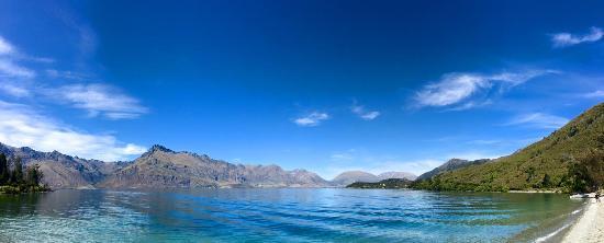 Queenstown, Yeni Zelanda: Wilson Bay