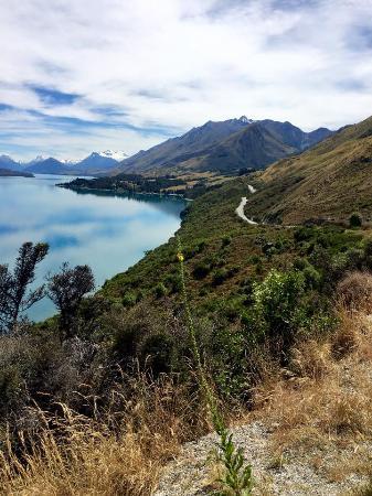 Queenstown, Yeni Zelanda: Lake Lookout
