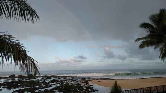 Tropical Waters: The view from the deck...