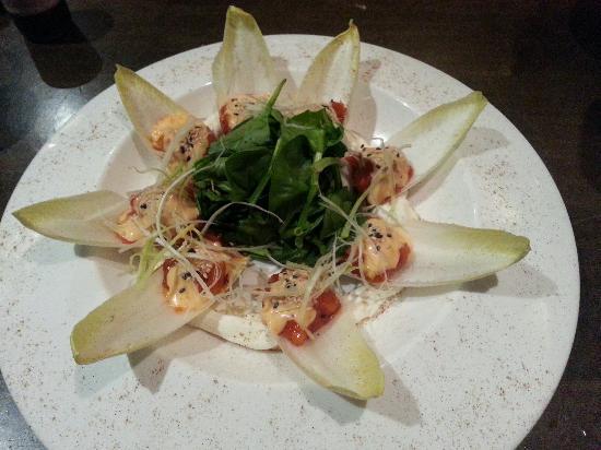 Kuro Asian Cuisine: Tuna Rising Sun and Sashimi
