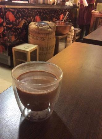 Delicious hot chocolate - Picture of Planete Chocolat, Brussels ...