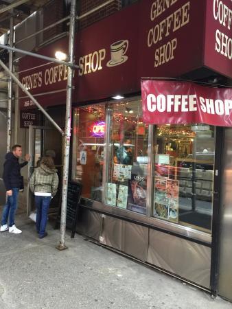 Gene's Coffee Shop: Exterior view