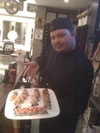 Stratton Mountain, VT: Young Sushi Rob