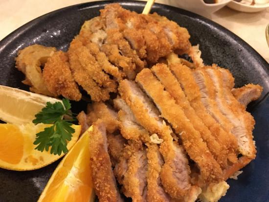 Kyoto Anese Restaurant Pork Tonkatsu