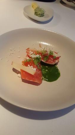 ARIA Restaurant: ocean trout