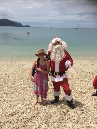 Fitzroy Island Resort: Christmas with Santa on the Beach