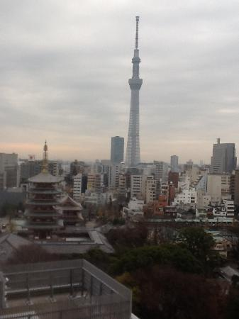 Richmond Hotel Asakusa: Here In The 13 Floor You Can See The Tree Tower Of