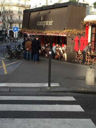 Terrasse du restaurant picture of le comptoir du relais for Le comptoir toulousain du carrelage