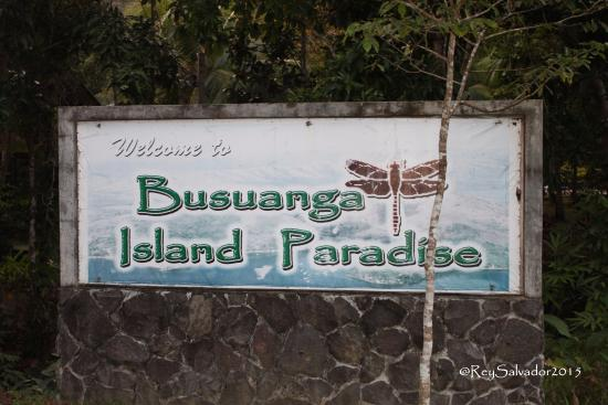 Busuanga Island Paradise: Signage in front of the hotel