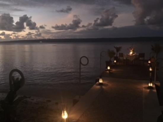 Paradise Cove Resort: Paradise Cove Jetty at Night