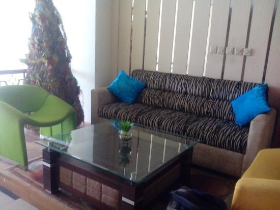 Hotel Victoria River View: lobby di lantai 3