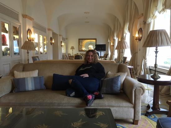 Eurostars Gran Hotel de la Toja: Salón televisión