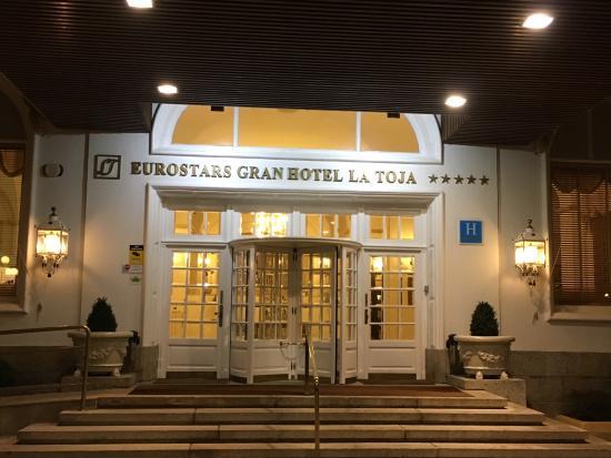 Eurostars Gran Hotel de la Toja: Entrada del Hotel
