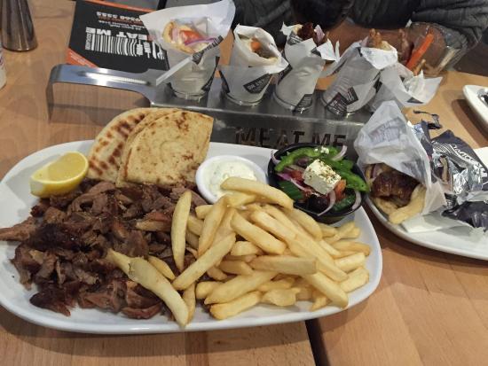 Oakleigh, ออสเตรเลีย: Mini souvas and Gyros