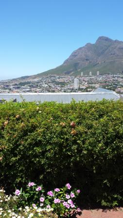 Bergzicht Guesthouse: Vue du jardin