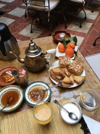Riad Aladdin: Breakfast
