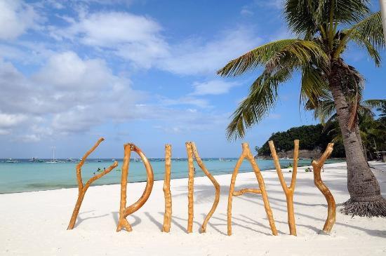 Friday's Boracay: Beach View