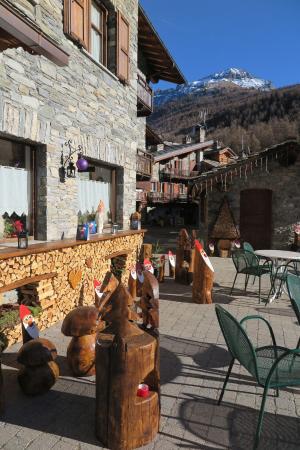Hotel Chez Lidia: Non c'era neve ma carino!