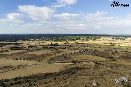 Vistas desde el castillo de Gormaz. Agosto-2015