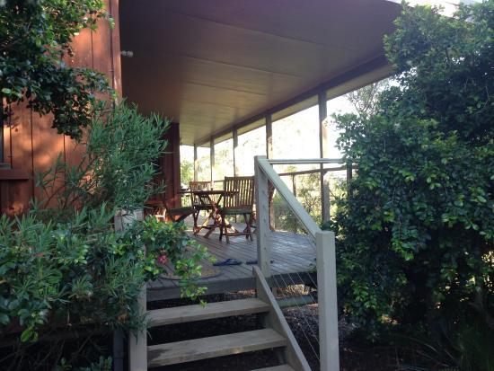 Gloucester, Austrália: Many hours spent on this verandah ... Unwinding