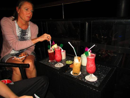 Vertigo Grill and Moon Bar: Drinks on the rooftop