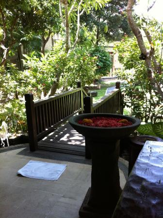 Risata Bali Resort & Spa: Spa Resort Lobby Entrance