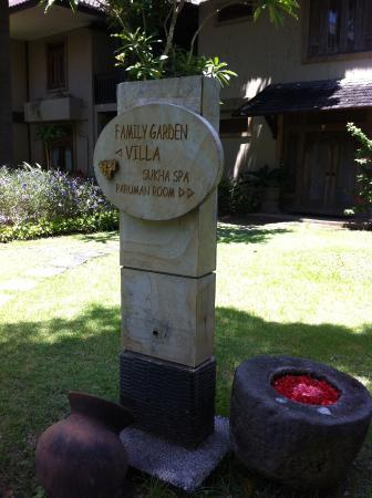 Risata Bali Resort & Spa: Spa Resort View Entrance