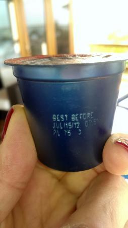 Mayan Islands Resort: Enjoy your coffee!