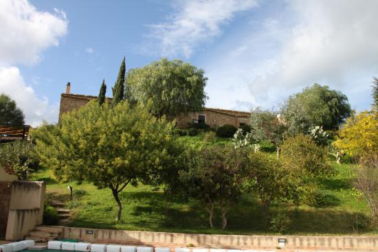 Sclafani Bagni, อิตาลี: Vista dalla piscina