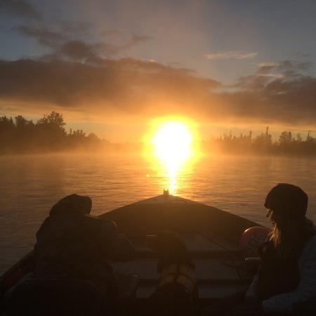 Jimmie Jack's Alaska Lodge: Early Morning on the Kenai River