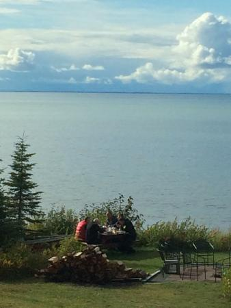 Jimmie Jack's Alaska Lodge: Ocean View at the Lodge