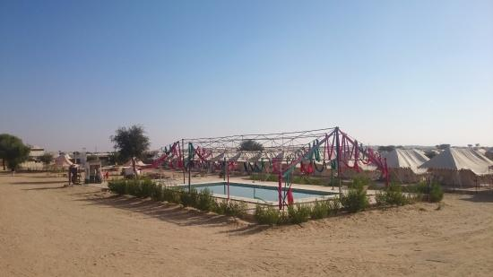 Swimming pool picture of royal desert camp jaisalmer - Jaisalmer hotels with swimming pool ...