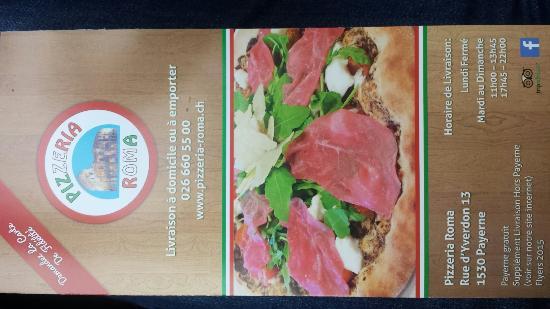 Payerne, Suiza: Pizzeria Roma