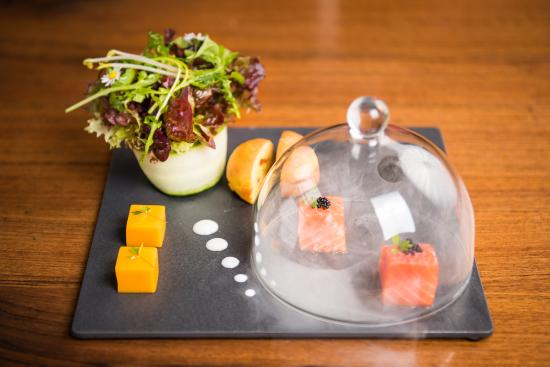 Restaurant Taverne - Hotel Interlaken: Smoked salmon