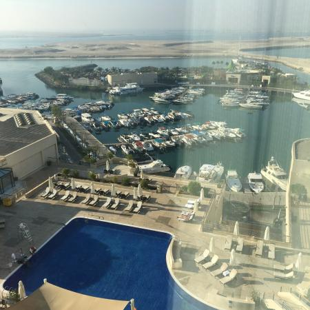 InterContinental Abu Dhabi: View from the Room