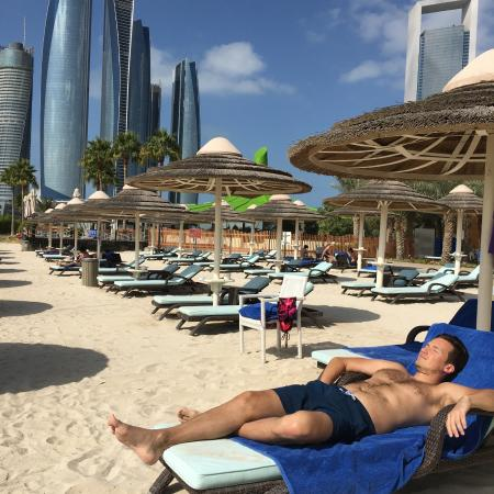 Intercontinental Abu Dhabi Beach Area