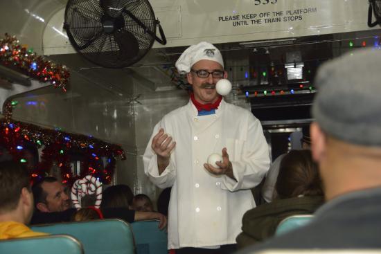 Entertaining Fun On Board Picture Of Delaware River Railroad Excursions Phillipsburg Tripadvisor