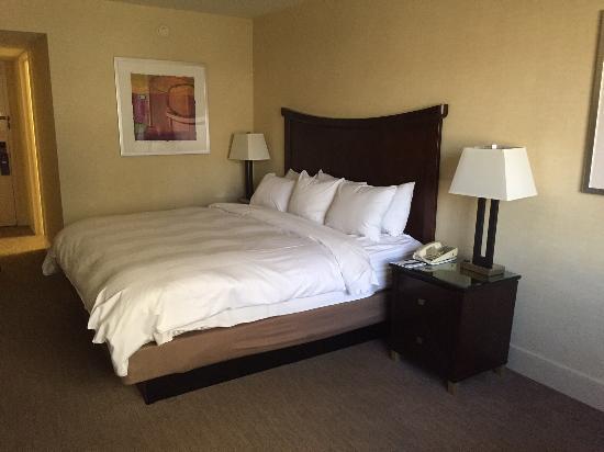 Parc 55 San Francisco - a Hilton Hotel: łóżko