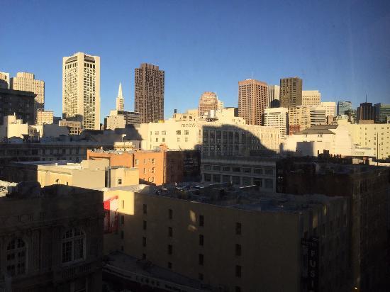 Parc 55 San Francisco - a Hilton Hotel: widok z okna