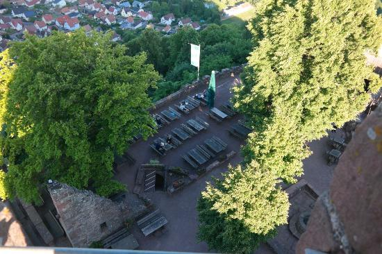 Turmblick Burg Landeck