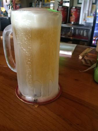 Hurricane Hank's: Ice Cold Budweiser at Duffys.