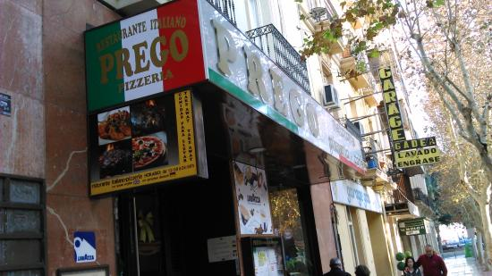 Prego: Пицца Прего.